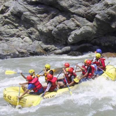 Rafting in Nepal