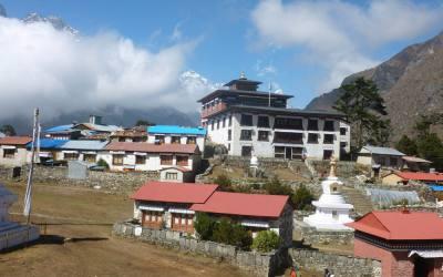 Hike to Tengboche Monastery