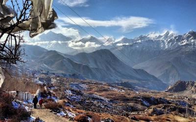 Part of Annapurna Circuit (Besisahar to Jomsom)