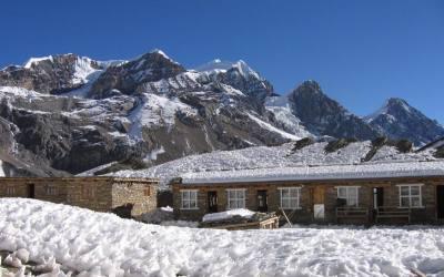Short trek out of annapurna region